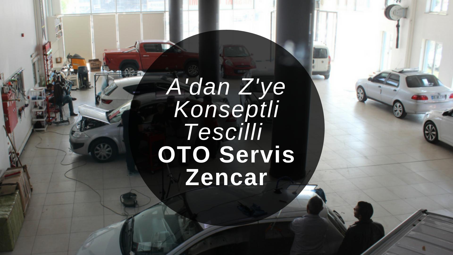 Türkiye'nin ilk A'dan Z'ye Oto Servis Konseptli Tescilli Özel Servisi