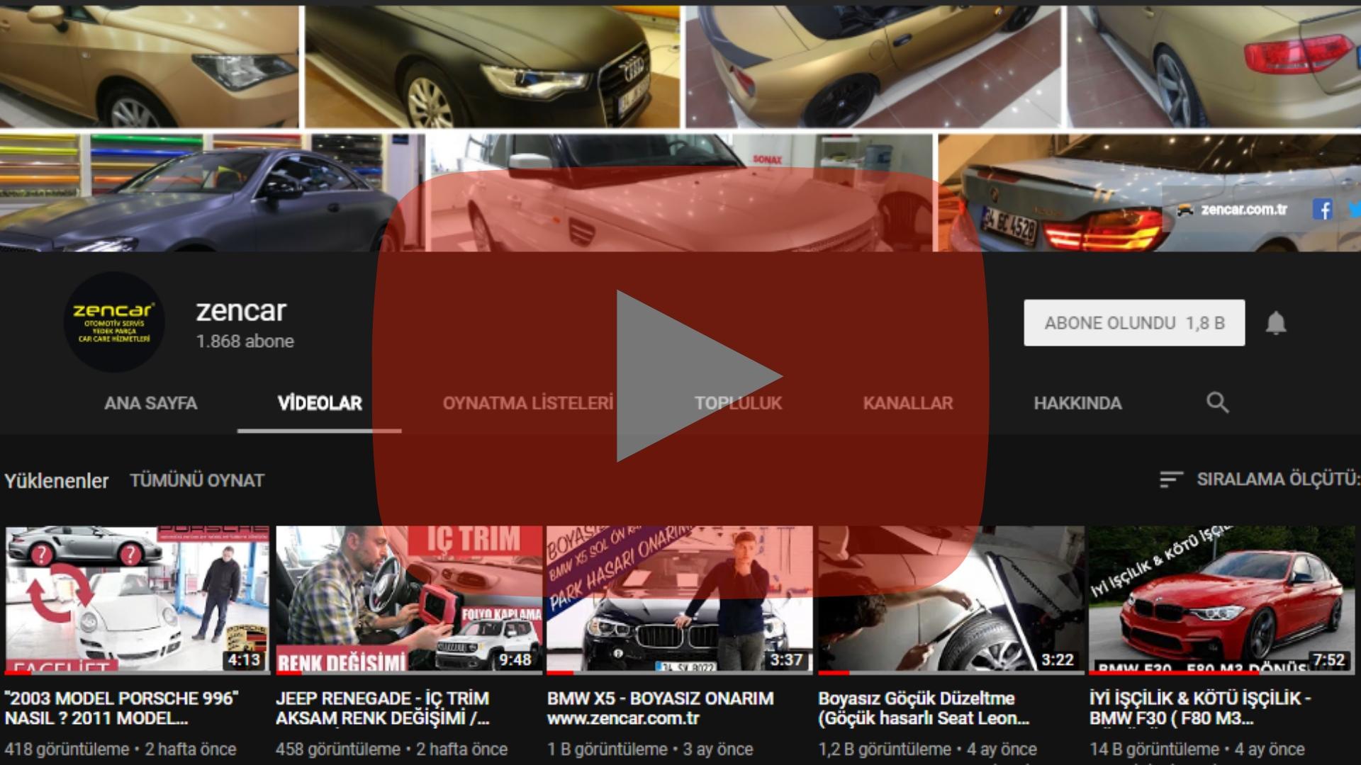 Zencar YouTube Kanalı