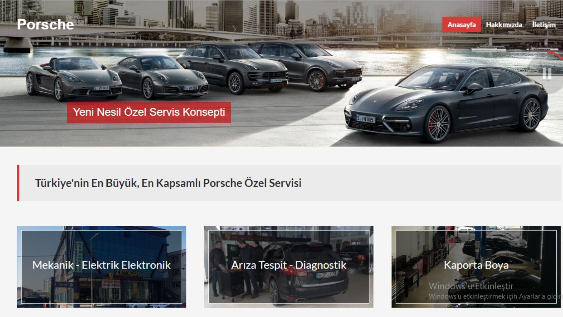 Zencar Porsche Özel Servis